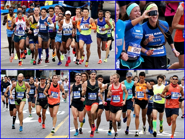 new york marathon collage morselli stefano 2015