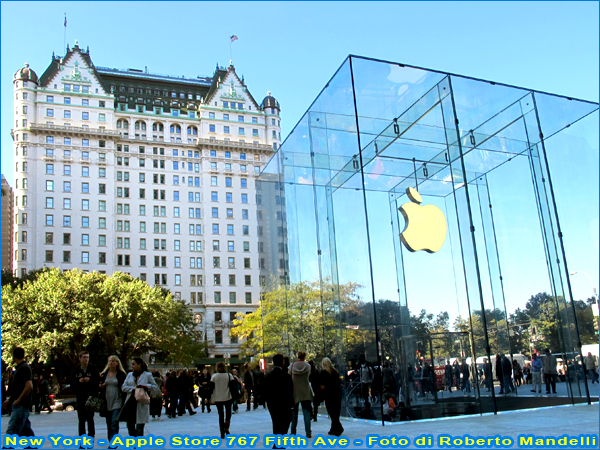 New York 2011 Apple Store 767 Fifth Ave a foto Roberto Mandelli