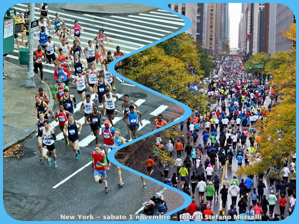 new york dash to finish line foto di strefano morselli